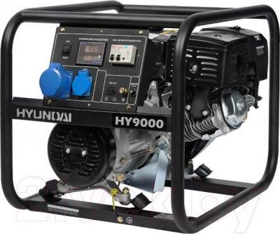Бензиновый генератор Hyundai HY9000 - общий вид