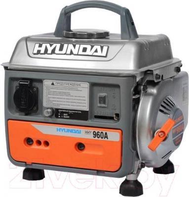 Бензиновый генератор Hyundai HHY960A - общий вид