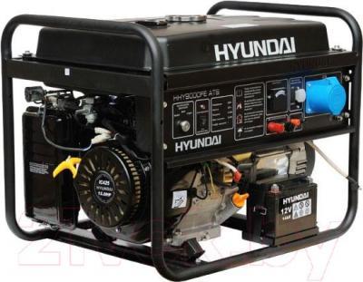 Бензиновый генератор Hyundai HHY9000FE ATS - общий вид