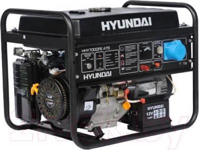 Бензиновый генератор Hyundai HHY7000FE ATS - общий вид