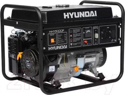 Бензиновый генератор Hyundai HHY 5000F - общий вид