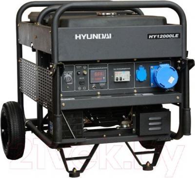 Бензиновый генератор Hyundai HY12000LE ATS - общий вид