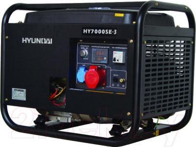 Бензиновый генератор Hyundai HY7000SE-3 - общий вид