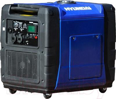 Бензиновый генератор Hyundai HY5600SEI - общий вид