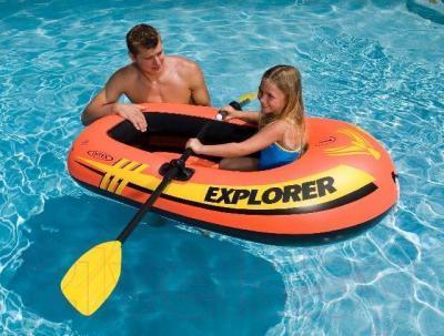 Надувная лодка Intex Explorer 100 (58329NP) - общий вид