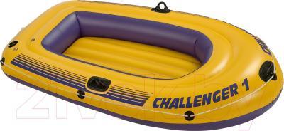 Надувная лодка Intex Challenger 1 (68365NP) - общий вид