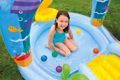 Водный игровой центр Intex 57139NP (279x160x140) - в использовании