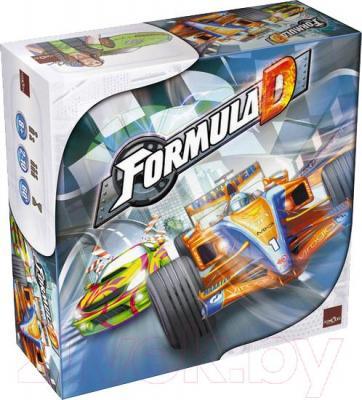 Настольная игра Asmodee Формула Д / Formula D - общий вид