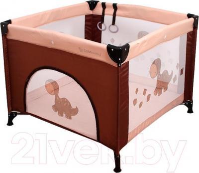 Игровой манеж Coto baby Conti (Brown) - общий вид