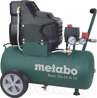 Воздушный компрессор Metabo Basic 250-24 W OF (601532000) - общий вид