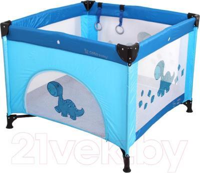 Игровой манеж Coto baby Conti (Light Blue) - общий вид