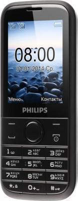 Мобильный телефон Philips Xenium E160 (черный)