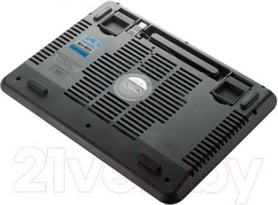 Подставка для ноутбука Deepcool N17 (синий) - вид сзади