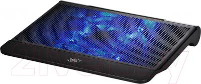 Подставка для ноутбука Deepcool N6000 - вид с подсветкой