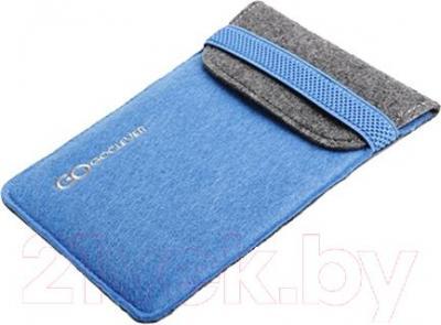 """Чехол для планшета GoClever Eco Sleeve 10"""" (Blue-Black) - общий вид"""