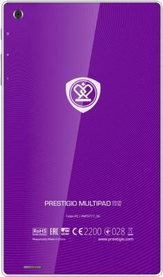 Планшет Prestigio MultiPad Color 7.0 16GB 3G (PMT5777_3G_D_VI) - вид сзади