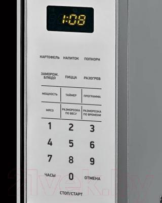 Микроволновая печь BBK 20MWS-729S/BS - панель управления