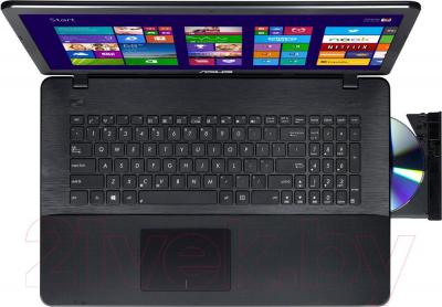 Ноутбук Asus X751LAV-TY094D - вид сверху