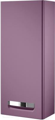 Шкаф-полупенал для ванной Roca The Gap ZRU9000080 (фиолетовый)