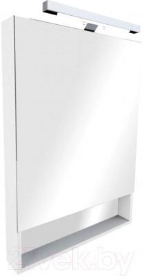 Шкаф с зеркалом для ванной Roca The Gap 70 ZRU9000085 (белое)