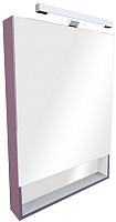 Шкаф с зеркалом для ванной Roca The Gap 70 ZRU9000088 (фиолетовое) -