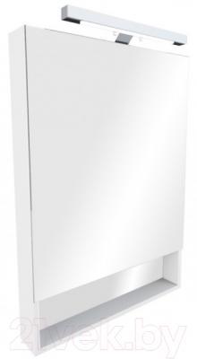 Шкаф с зеркалом для ванной Roca The Gap 80 ZRU9000086 (белое)