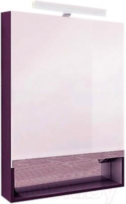 Шкаф с зеркалом для ванной Roca The Gap 80 ZRU9000089 (фиолетовое)