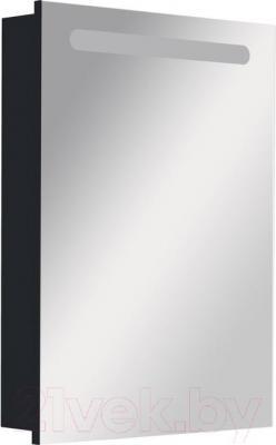 Шкаф с зеркалом для ванной Roca Victoria Nord 60 ZRU9000099 (черное) - общий вид