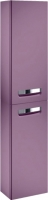 Шкаф-пенал для ванной Roca The Gap ZRU9000083 (фиолетовый) -