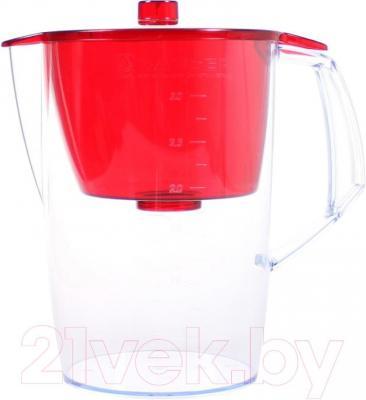 Фильтр питьевой воды БАРЬЕР Лайт (Красный) - общий вид