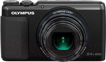 Компактный фотоаппарат Olympus SH-60 (Black) - общий вид