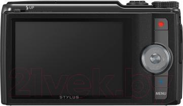 Компактный фотоаппарат Olympus SH-60 (Black) - вид сзади