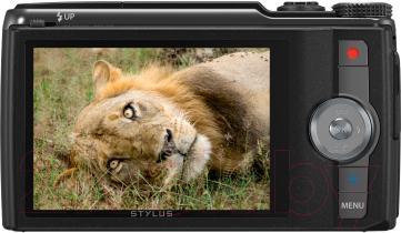Компактный фотоаппарат Olympus SH-60 (Black) - дисплей