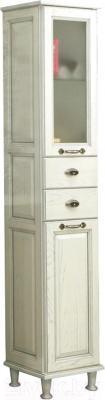 Шкаф-пенал для ванной Акватон Жерона (1A158903GEM2L) - общий вид