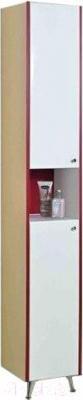 Шкаф-пенал для ванной Акватон Роко (1A106903RO01L) - общий вид