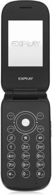 Мобильный телефон Explay Flip (Black)