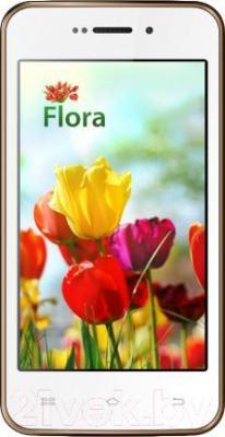 Смартфон Keneksi Flora (Gold) - общий вид