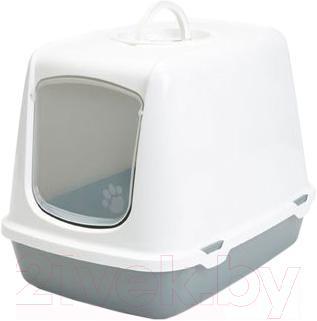 Туалет-домик Savic Oscar 026500WG (светло-серый/серый) - общий вид