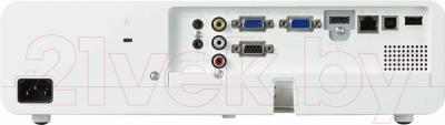 Проектор Panasonic PT-LB360E - вид сзади