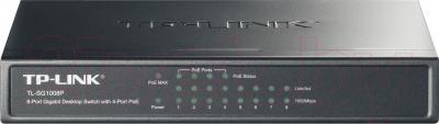 Коммутатор TP-Link TL-SG1008P - общий вид