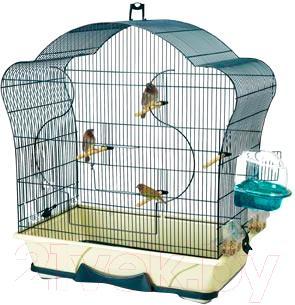 Клетка для птиц Savic ELISE 50 (темно-синий) - общий вид