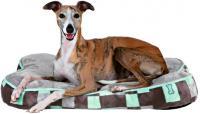 Лежанка для животных Trixie Bones 38906 (серо-ментоловый) -