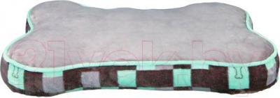 Лежанка для животных Trixie Bones 38906 (серо-ментоловый) - общий вид