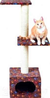Комплекс для кошек Trixie Laslo 44040 (коричневый) - общий вид
