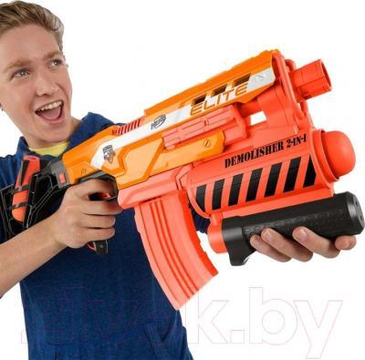 Бластер Hasbro NERF N-Strike Elite Разрушитель - игрушка в руках
