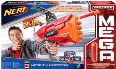 Бластер Hasbro NERF N-Strike Elite Mega Thunderbow (A8768) - упаковка