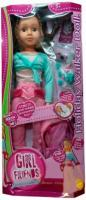Кукла Sum Sum Girl Friends Веселые каникулы 32302 (шагающая) -