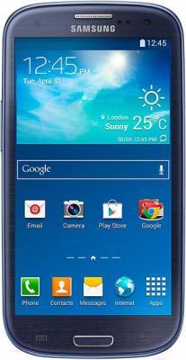 Смартфон Samsung Galaxy S3 Neo / I9301 (синий) - общий вид