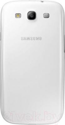 Смартфон Samsung Galaxy S3 Neo / I9301 (белый) - вид сзади