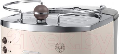 Кофеварка эспрессо DeLonghi ECOV 310.BG - подставка для подогрева чашек